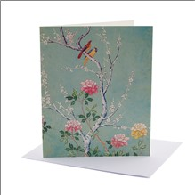 CHINESE BLOSSOM JONES (NOTECARD PACK CONTAINING SIX CARDS OF THE SAME DESIGN)