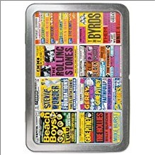 BRITISH CONCERT POSTERS  NOTECARD TIN