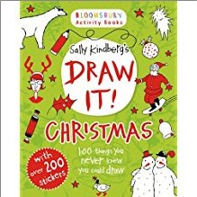 BLOOMSBURY ACTIVITY BOOKS | SALLY KINDBERG'S DRAW IT! CHRISTMAS