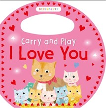 BLOOMSBURY CARRY AND PLAY | I LOVE YOU