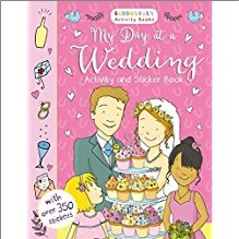 BLOOMSBURY ACTIVITY BOOKS | MY DAY AT A WEDDING ACTIVITY AND STICKER BOOK