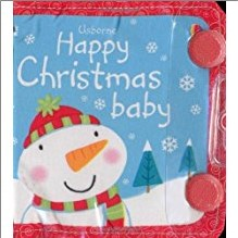 USBORNE HAPPY CHRISTMAS BABY CLOTH BOOK