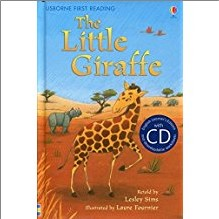 USBORNE FIRST READING | LITTLE GIRAFFE | BOOK AND CD
