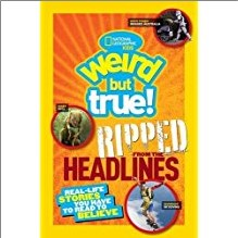 NATIONAL GEOGRAPHIC KIDS | WEIRD BUT TRUE! | RIPPED FROM THE HEADLINES