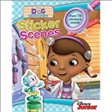 DISNEY DOC MCSTUFFINS | STICKER SCENES