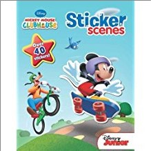DISNEY MICKEY MOUSE CLUBHOUSE | STICKER SCENES