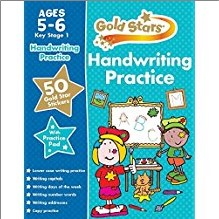 GOLD STARS | HANDWRITING PRACTICE | AGES 5-6