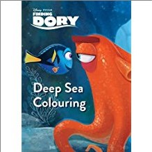 DISNEY PIXAR FINDING DORY | DEEP SEA COLOURING