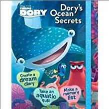 DISNEY PIXAR FINDING DORY | DORY'S OCEAN SECRETS