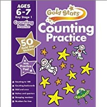 GOLD STARS | COUNTING PRACTICE | AGES 6-7