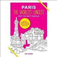 PARIS | WORLD'S LONGEST DOT-TO-DOT PUZZLE