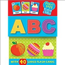 TINY TOTS FLASH CARDS | A B C | WITH 40 LARGE FLASH CARDS