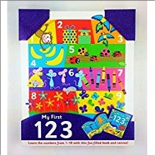 MY FIRST 1 2 3 | Learn The Numbers From 1-10 With This Fun-Filled Book and Canvas!
