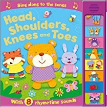 HEAD, SHOULDERS, KNEES AND TOES SOUND BOOK