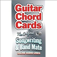 GUITAR CHORD CARDS   THE ORIGINAL SONGWRITING & BAND MATE