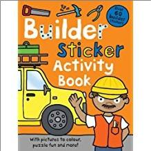 BUILDER STICKER ACTIVITY BOOK