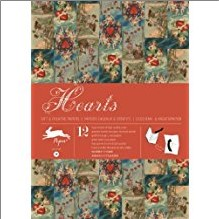 HEARTS | GIFT WRAPPING PAPER BOOK