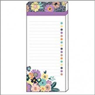 Floral Pop Magnetic List