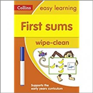 COLLINS EASY LEARNING | FIRST SUMS WIPE-CLEAN