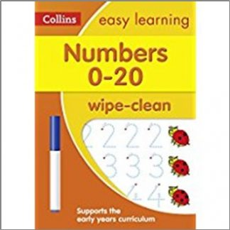 COLLINS EASY LEARNING |  NUMBER 0-20 WIPE-CLEAN