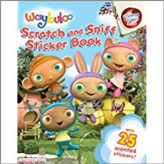 WAYBULOO | SCRATCH AND SNIFF STICKER BOOK
