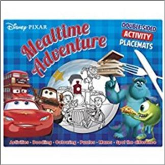 DISNEY PIXAR | MEALTIME ADVENTURE | DOUBLE-SIDED ACTIVITY PLACEMATS