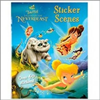 DISNEY FAIRIES TINKERBELL STICKER SCENES