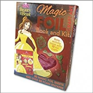 DISNEY PRINCESS BEAUTY AND THE BEAST | MAGIC FOIL BOOK AND KIT