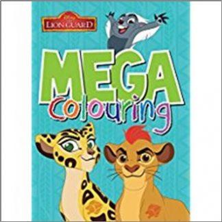 DISNEY LION GUARD | MEGA COLOURING