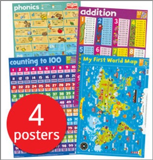 MY FIRST WALL CHART PACK (AGES 5+)