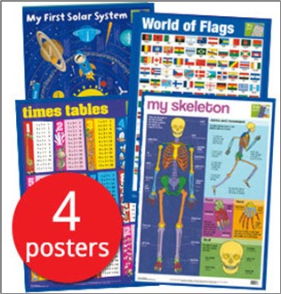 MY FIRST WALL CHART PACK (AGES 7+)