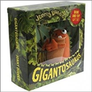 GIGANTOSAURUS BOOK AND PLUSH