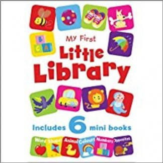 MY FIRST LIBRARY | INCLUDES 6 MINI BOOKS
