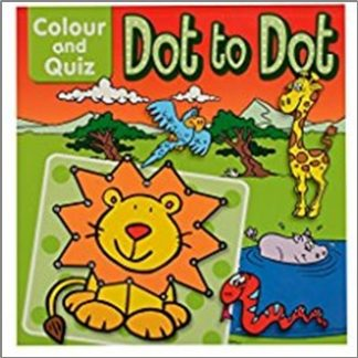 COLOUR AND QUIZ | DOT TO DOT