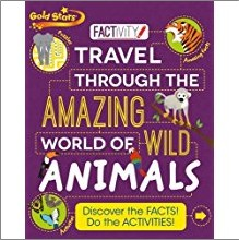 GOLD STARS | FACTIVITY | TRAVEL THROUGH THE AMAZING WORLD OF WILD ANIMALS