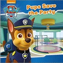 NICKELODEAN PAW PATROL   PUPS SAVE THE PARTY