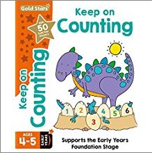 GOLD STARS | KEEP ON COUNTING AGES 4-5