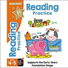 GOLD STARS | READING PRACTICE AGES 4-5