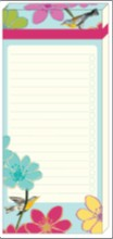 MAGNETIC LIST PAD | FLORAL BIRD