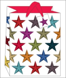 STARS LARGE GIFT BAG