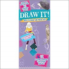 DRAW IT! | HOW-TO BOOK AND PENCIL SET