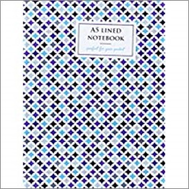 A5 LINED NOTEBOOK | BLUE DIAMOND