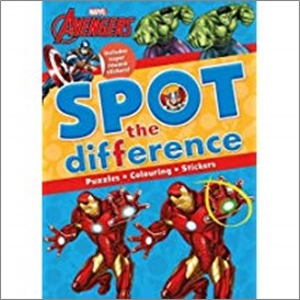 MARVEL AVENGERS | SPOT THE DIFFERENCE