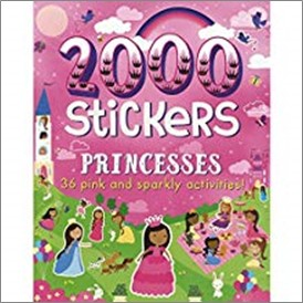 2000 STICKERS | PRINCESSES