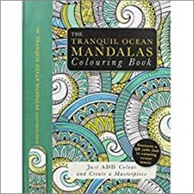 TRANQUIL OCEAN MANDALAS COLOURING BOOK