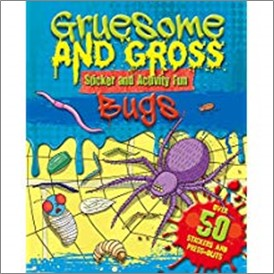 GRUESOME AND GROSS STICKER ACTIVITY FUN | BUGS