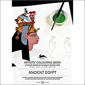 ANCIENT EGYPT | ARTISTS' COLOURING BOOK