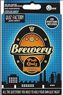 QUIZ FACTORY GAME CARDS | BREWERY PUB QUIZ EDITION