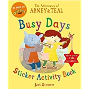 ADVENTURES OF ABNEY & TEAL | BUSY DAYS STICKER ACTIVITY BOOK