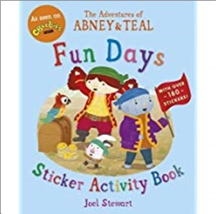 ADVENTURES OF ABNEY & TEAL | FUN DAYS STICKER ACTIVITY BOOK